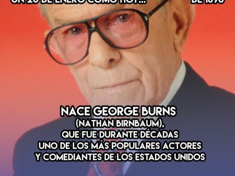 George Burns, rey de la comedia