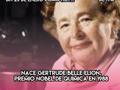 Gertrude Belle Elion, Premio Nobel de Química