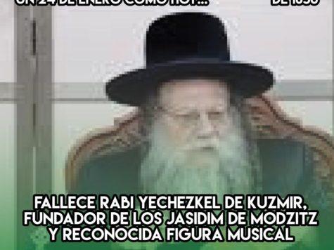 Rabi Yejezkel de Kuzmir y la música jasídica