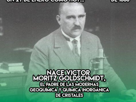 Victor Goldschmidt, padre de la geoquimica