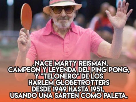 Marty Reisman, leyenda del ping pong