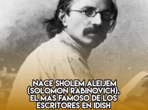 """Sholem Aleijem, """"un judío simple y llano"""""""