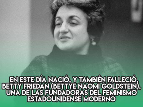 Betty Friedan y el feminismo