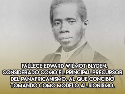 Edward Wilmot Blyden, panafricanismo y sionismo
