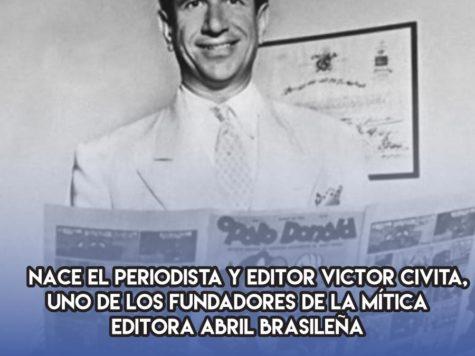 Victor Civita y la Editorial Abril
