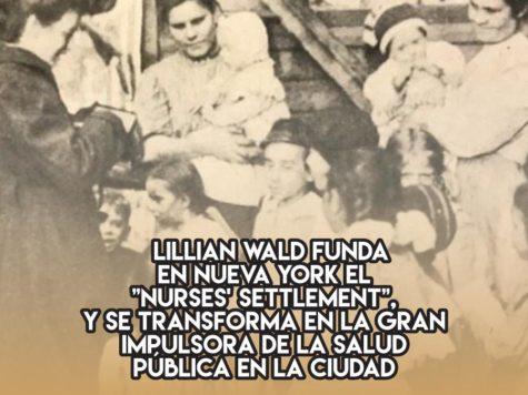 Lillian Wald, pionera de la salud pública