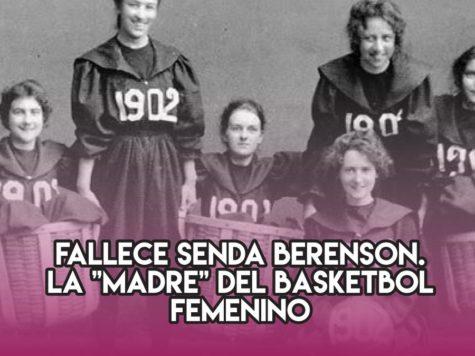 "Senda Berenson, la ""madre"" del basketbol femenino"