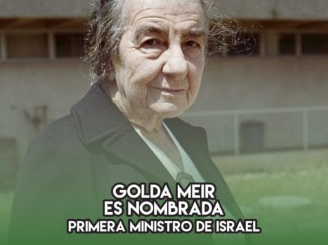 Golda Meir es nombrada Primera Ministro de Israel