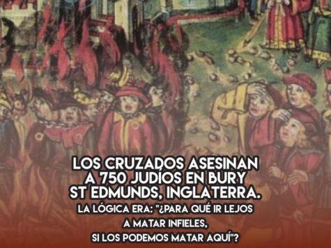 Masacre cruzada en Bury St Edmunds