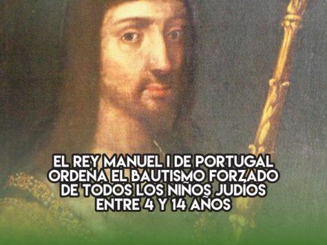 Bautismos forzados en Portugal