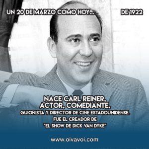 """Carl Reiner y """"El show de Dick Van Dyke"""""""