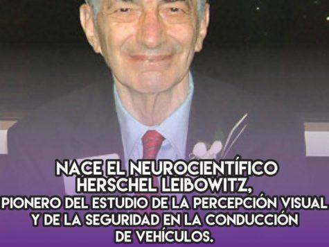 Herschel Leibowitz: percepción visual y seguridad al conducir