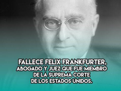 Felix Frankfurter en la Corte Suprema de los Estados Unidos