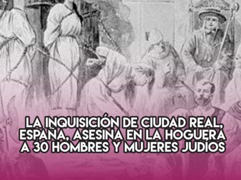 Hoguera de la Inquisición en Ciudad Real