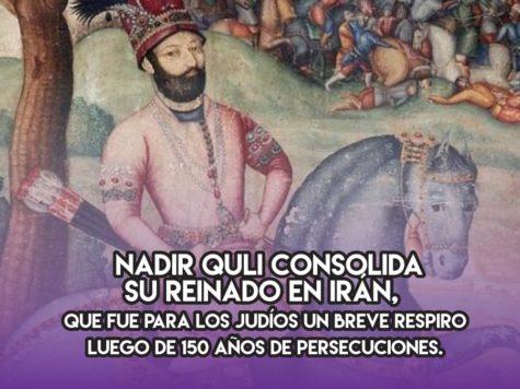 Nadir Shah, un respiro en Irán