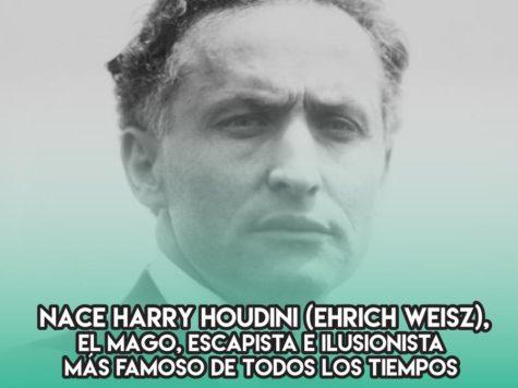 Harry Houdini, el ilusionista más famoso de la historia