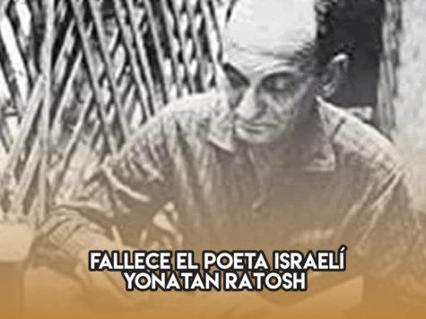 Yonatan Ratosh, poeta israelí