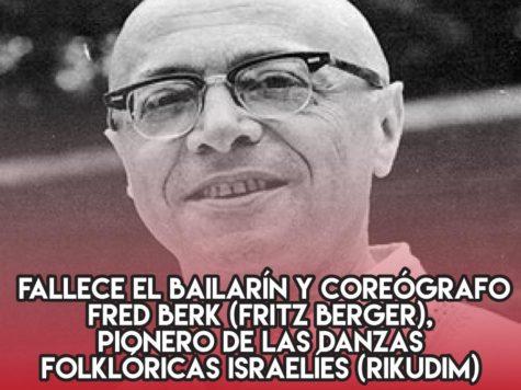 Fred Berk, pionero de rikudim