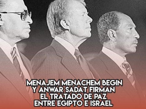 La paz entre Israel y Egipto