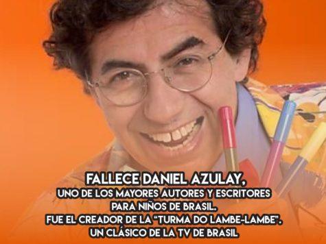 "Daniel Azulay y la ""Turma do Lambe-Lambe"""