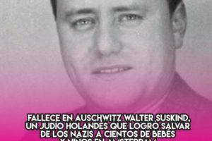 Walter Suskind, salvador de niños