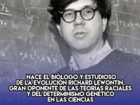 Richard Lewontin, el anti-racista científico