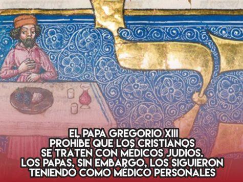 Gregorio XIII y los médicos judíos