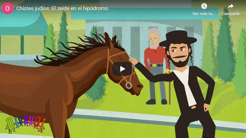 Chistes judíos: El zeide en el hipódromo