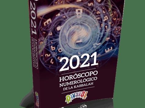 Libro gratis:Horóscopo de la numerología 2021 según la kabbalah