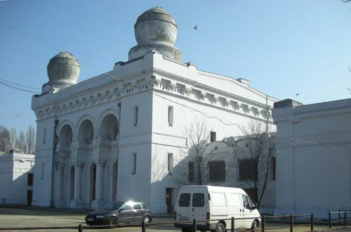 Cementerio judio de Budapest
