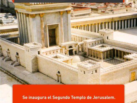 Segundo Templo de Jerusalem: 1 de Abril