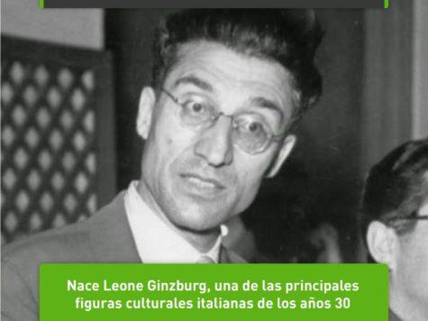Leone Ginzburg: 4 de abril