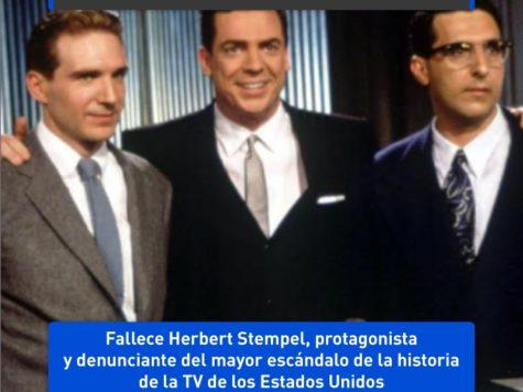 Herbert Stempel y los concursos de TV amañados