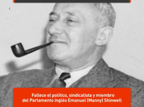 Manny Shinwell, prócer del laborismo británico