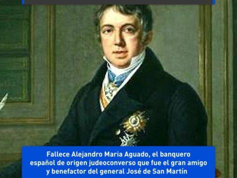 Alejandro Maria de Aguado, benefactor de San Martín