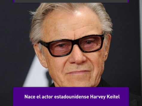 "Harvey Keitel, un ""duro"" de Hollywood"