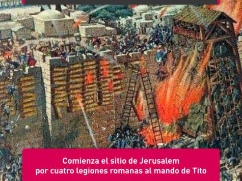 Tito sitia a Jerusalem: 14 de abril
