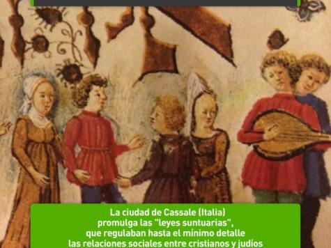 """Las """"Leyes suntuarias"""" de Casale: 14 de mayo"""