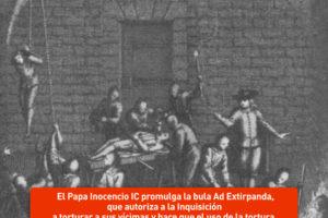Inocencio IV autoriza la tortura de la Inquisición
