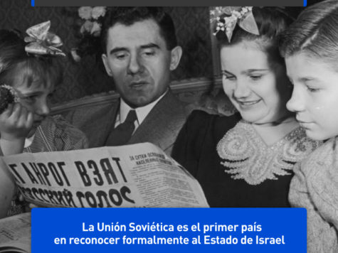 La Unión Soviética, primer país en reconocer a Israel