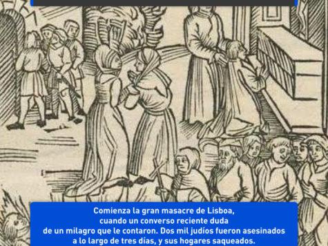 La masacre de Lisboa: 2000 muertos por una vela...