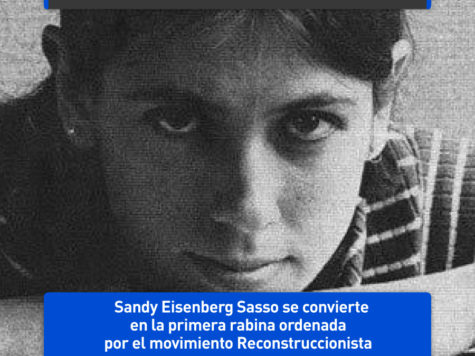 Sandy Sasso, primera rabina reconstruccionista