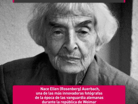Ellen Auerbach, a la vanguardia de la fotografía