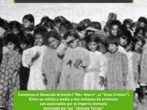 Mec Yełeṙn: el genocidio contra el pueblo armenio