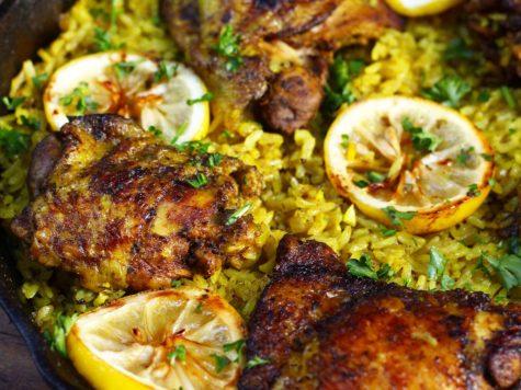 Arroz con pollo marroquí