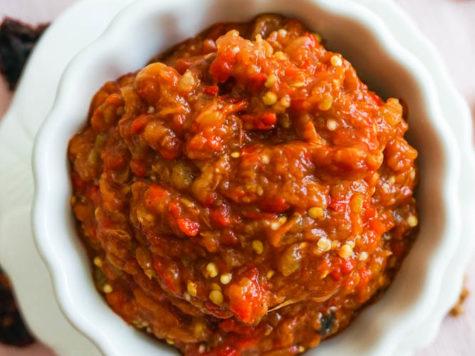 Salata de berenjena a la bulgara (kiopolu)