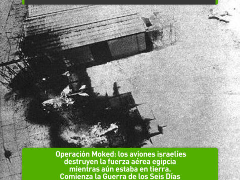 Operación Moked: comienza la Guerra de los Seis Días