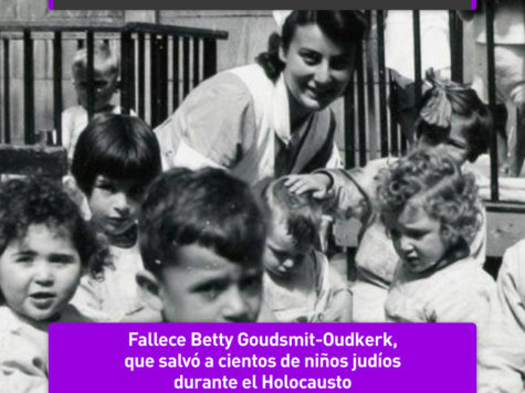 Betty Goudsmit-Oudkerk, una heroína en la Shoá