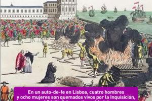 Auto-da-fe en Lisboa: 17 de junio