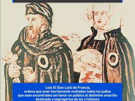 "La ""rouelle"": prohibido confundir a un judío con un cristiano"